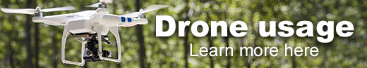 Learn more about usage of drones on the forest.