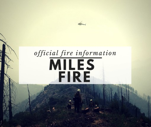 Miles Fire Information button