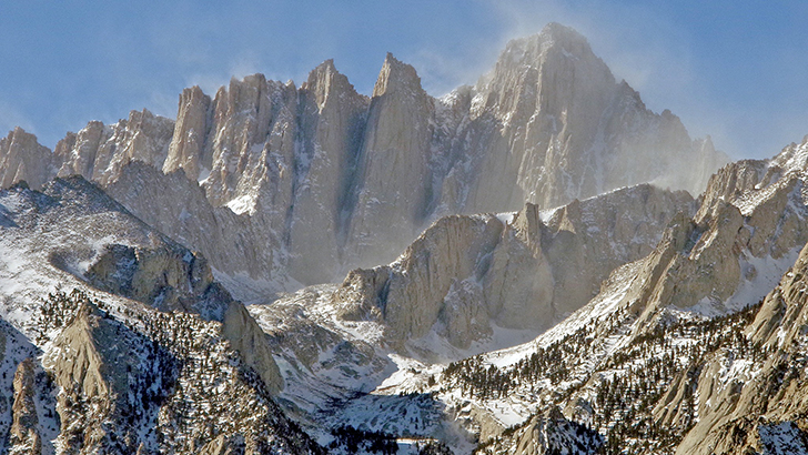 Mount Whitney, Inyo National Forest. Photo by Joel Sladky.