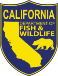 California Department of Fish and Wildlife Shield