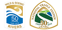Celebrating 50 years of the Wild and Scenic Rivers and National Trails System