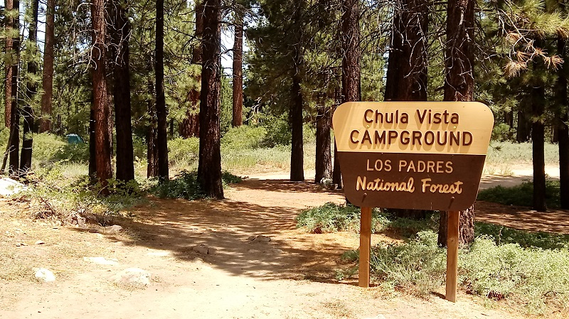 Los Padres National Forest - Chula Vista Campground