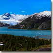 "Randy donated a 36"" x 12"" panorama of Nellie-Juan Glacier."
