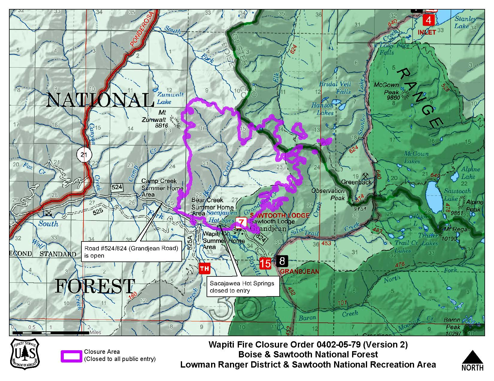 Boise National Forest - Alerts & Notices