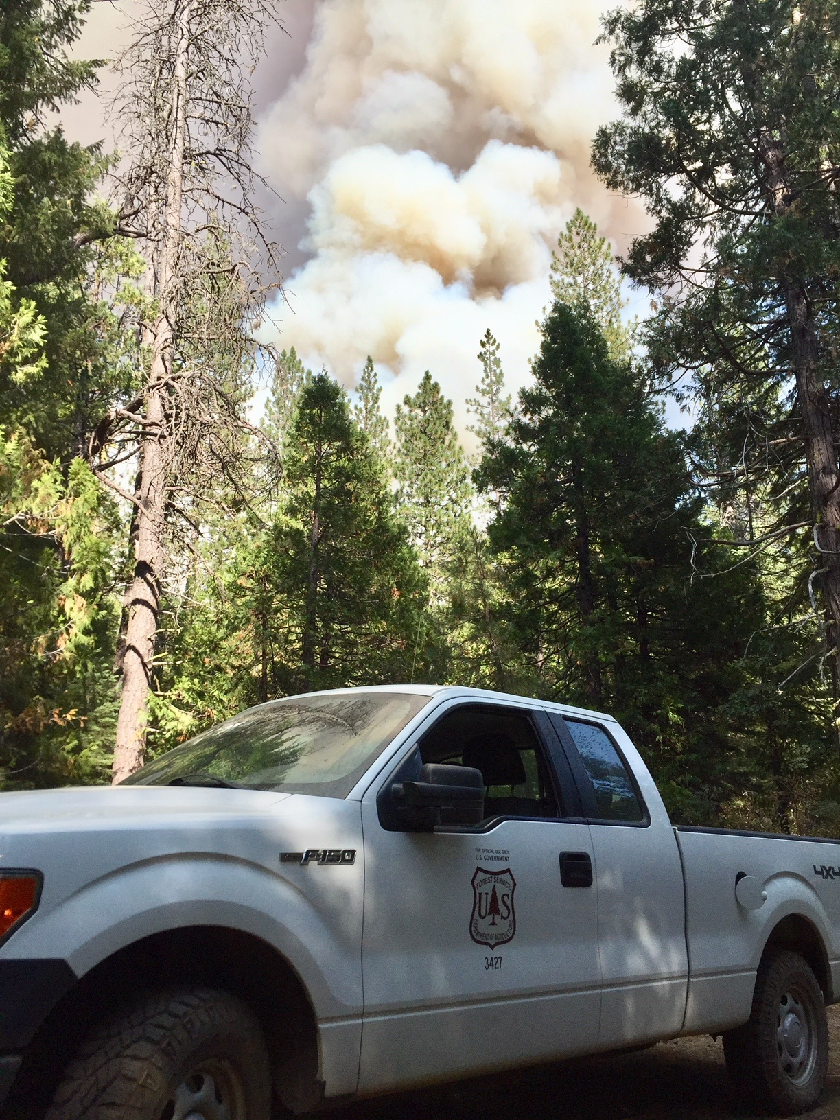 North Fire - Jai - USFS Truck