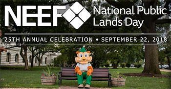 2018 National Public Lands Day Banner