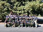 Saipan crew was on the mainland for a month working on fires in northern California