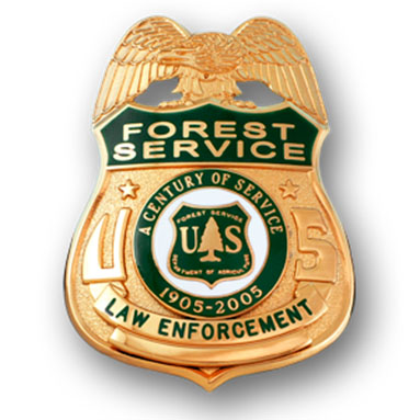 Forest Service Law Shield