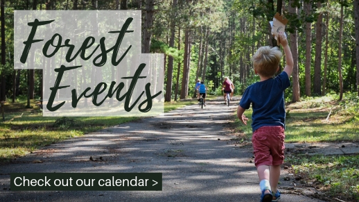 Mark your calendars for winter events on teh forest.