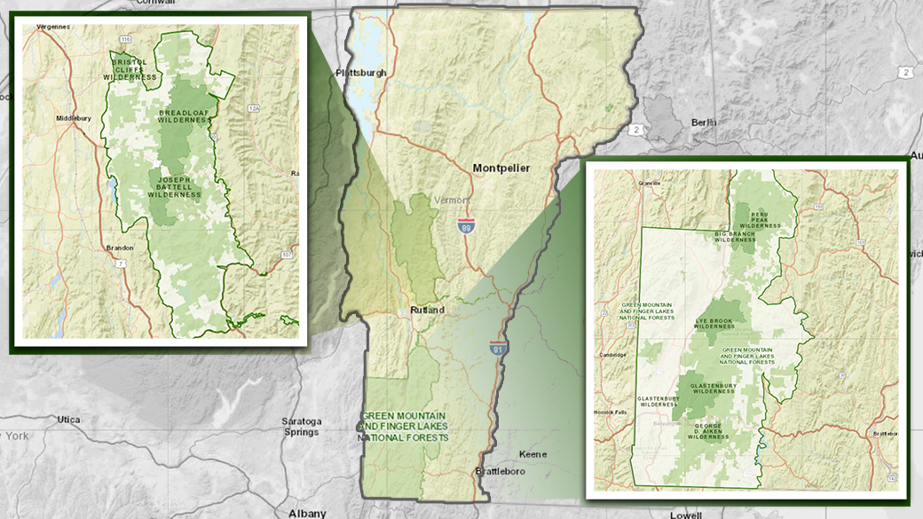 finger lakes national forest map Green Mountain Finger Lakes National Forests About The Forest finger lakes national forest map