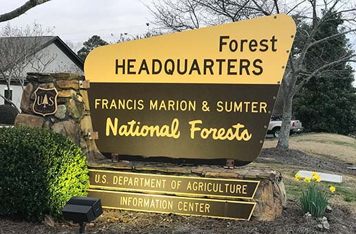 Francis Marion Sumter Sign