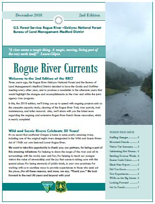 Rogue River Currents cover 2018
