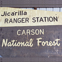 Jicarilla Ranger District Carson National Forest