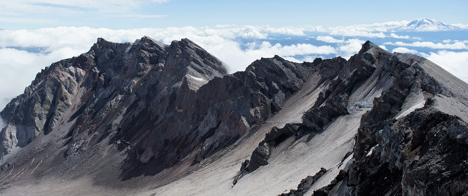 Mount St. Helens summit