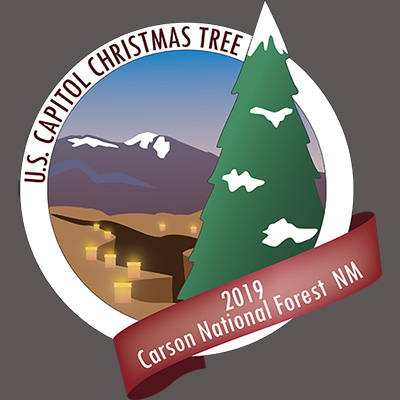US Capitol Christmas Tree 2019 Carson National Forest NM