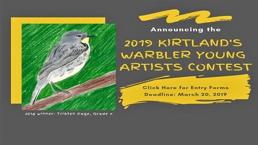 Enter the Kirtlands' Warbler Calendar Contest!