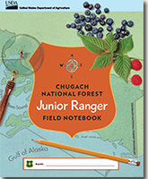 Cover page for the Chugach Jr. Ranger Book.