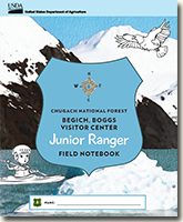 Cover page for the BBVC Jr. Ranger Book.