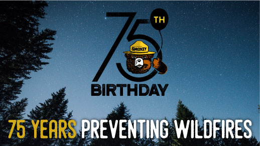 It's Smokey Bear's 75th Birthday!