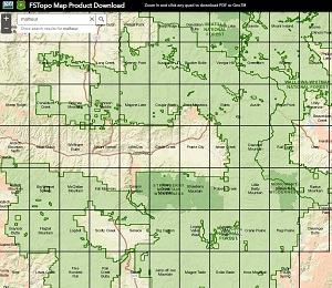 Malheur National Forest - Maps & Publications on