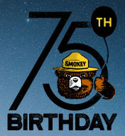 Find an event to celebrate Smokey's 75th Birthday