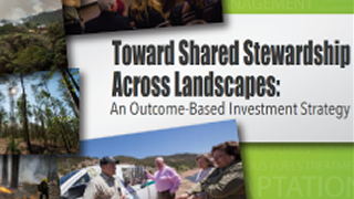Toward Shared Stewardship Across Landscapes: An Outcome Based Strategy PDF