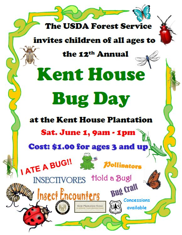 Photo of the 2019 Kent House Bug Day Flyer
