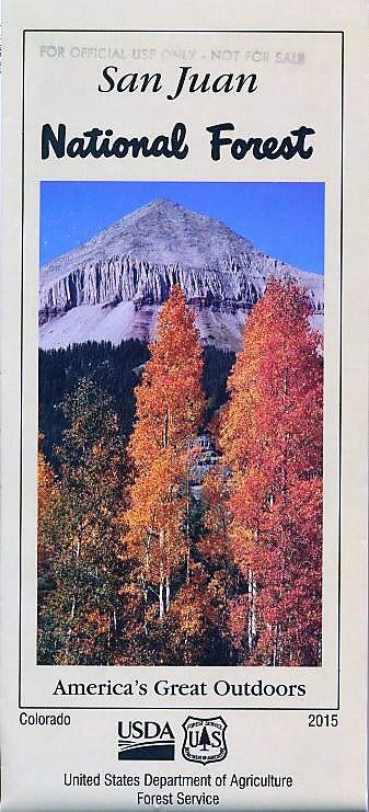 San Juan National Forest - Maps & Publications