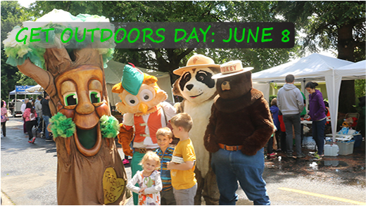 Join us June 8 for Get Outdoors Day!