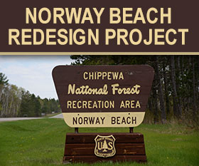 Learn about the changes coming to Norway Beach Recreation Area.
