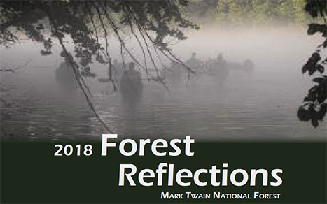 Mark Twain National Forest 2018 Reflection Cover Page