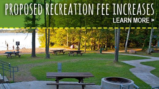 Learn about proposed recreation fee changes.
