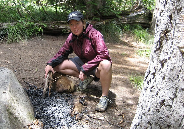 Removing campfire rings in the backcountry helps restore Wilderness character.