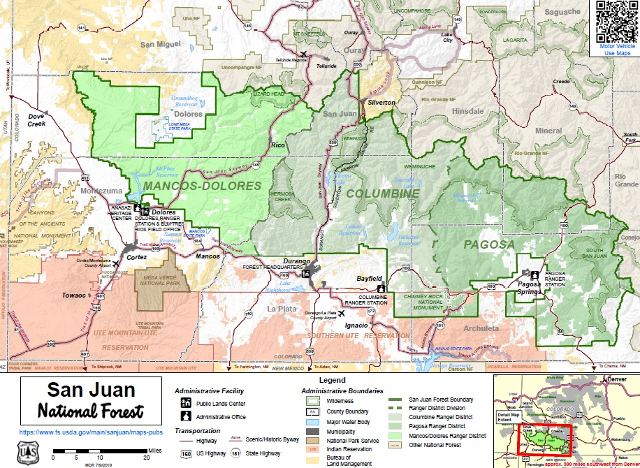 San Juan National Forest - Maps & Publications