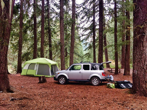 Okanogan-Wenatchee National Forest - Camping & Cabins:Campground Camping