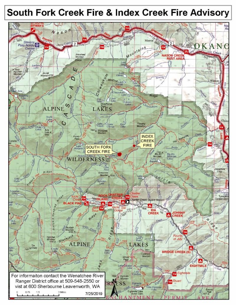 South Fork - Index Fire Advisory