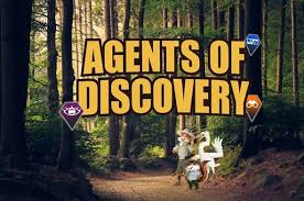 Agents of Discovery page banner with forest and animal agents
