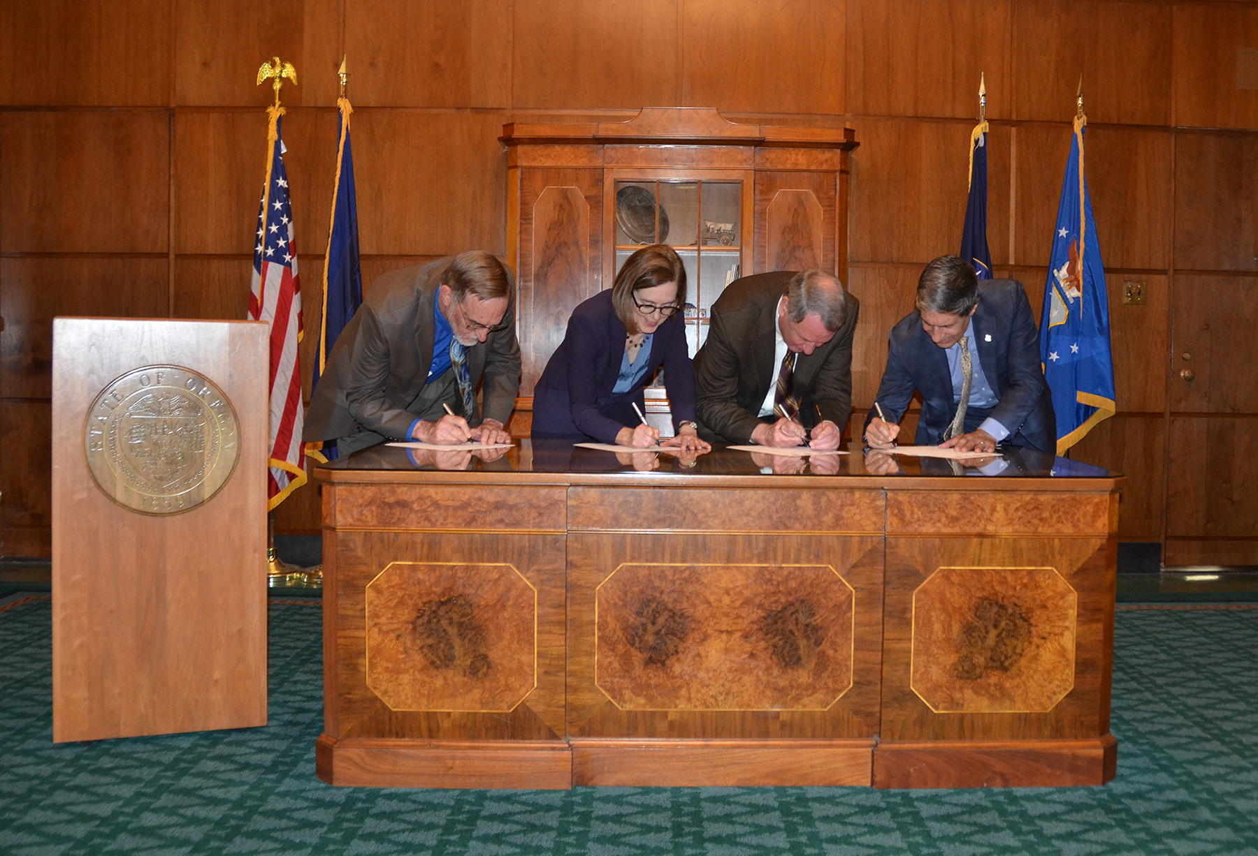 Shared Stewardship Signing