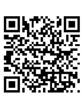 Photo of QR code for employment page