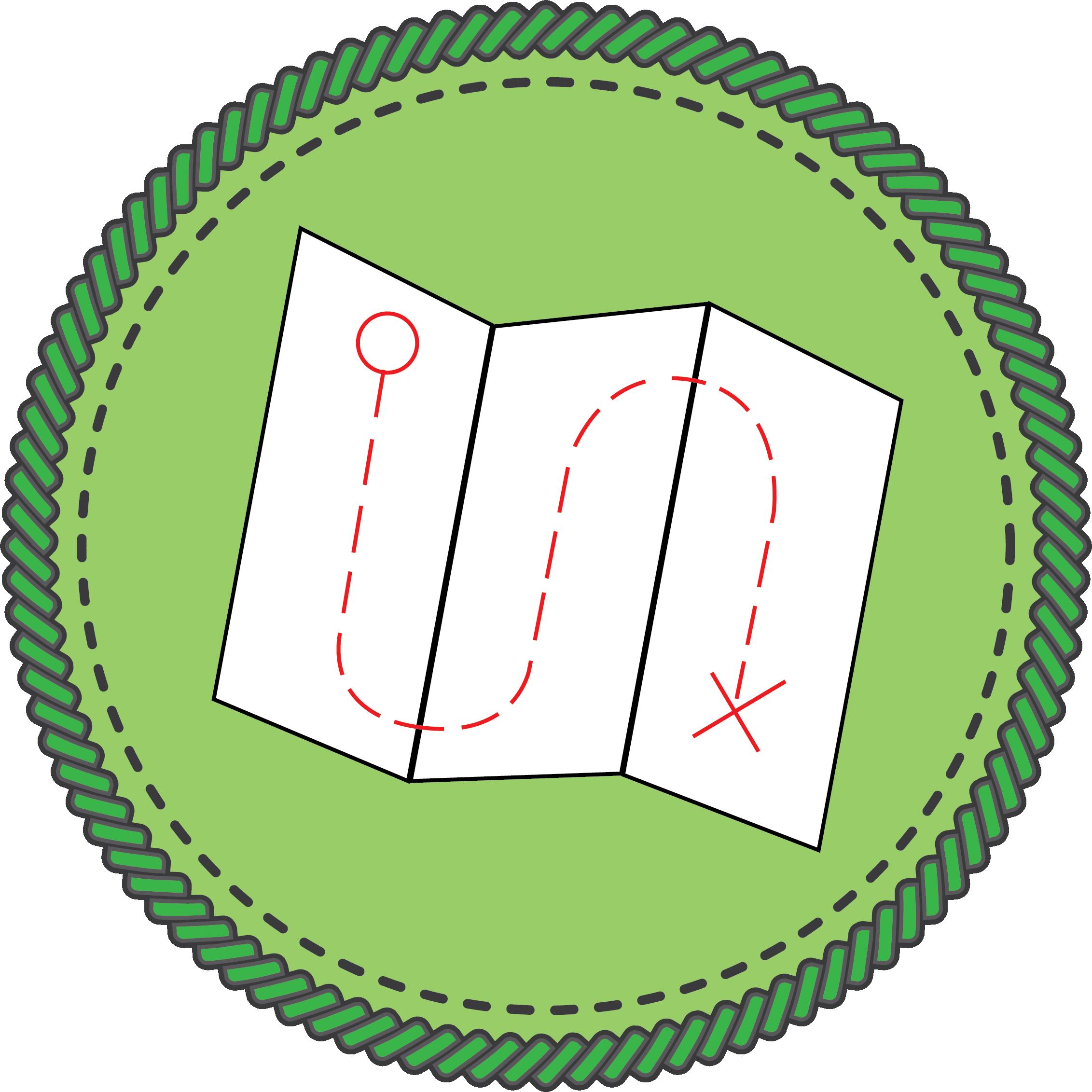 Map badge icon