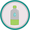 Water Badge Icon
