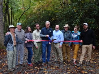 Cantrell Creek Project Ribbon Cutting