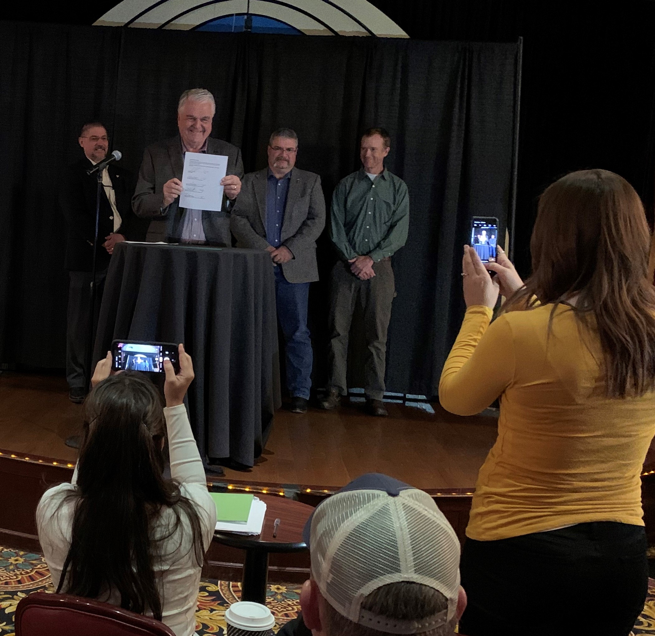 2019 Shared Stewardship Signing with Nevada Governor Sisolak