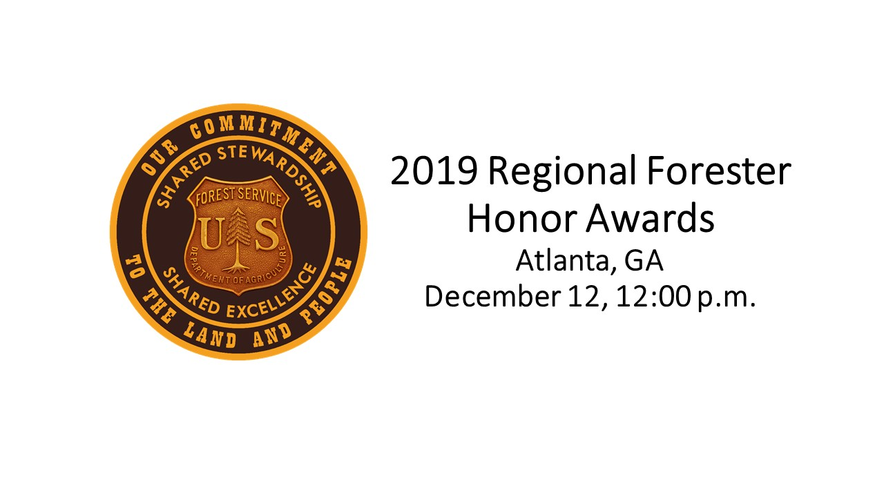 2019 Regional Forester Honor Awards