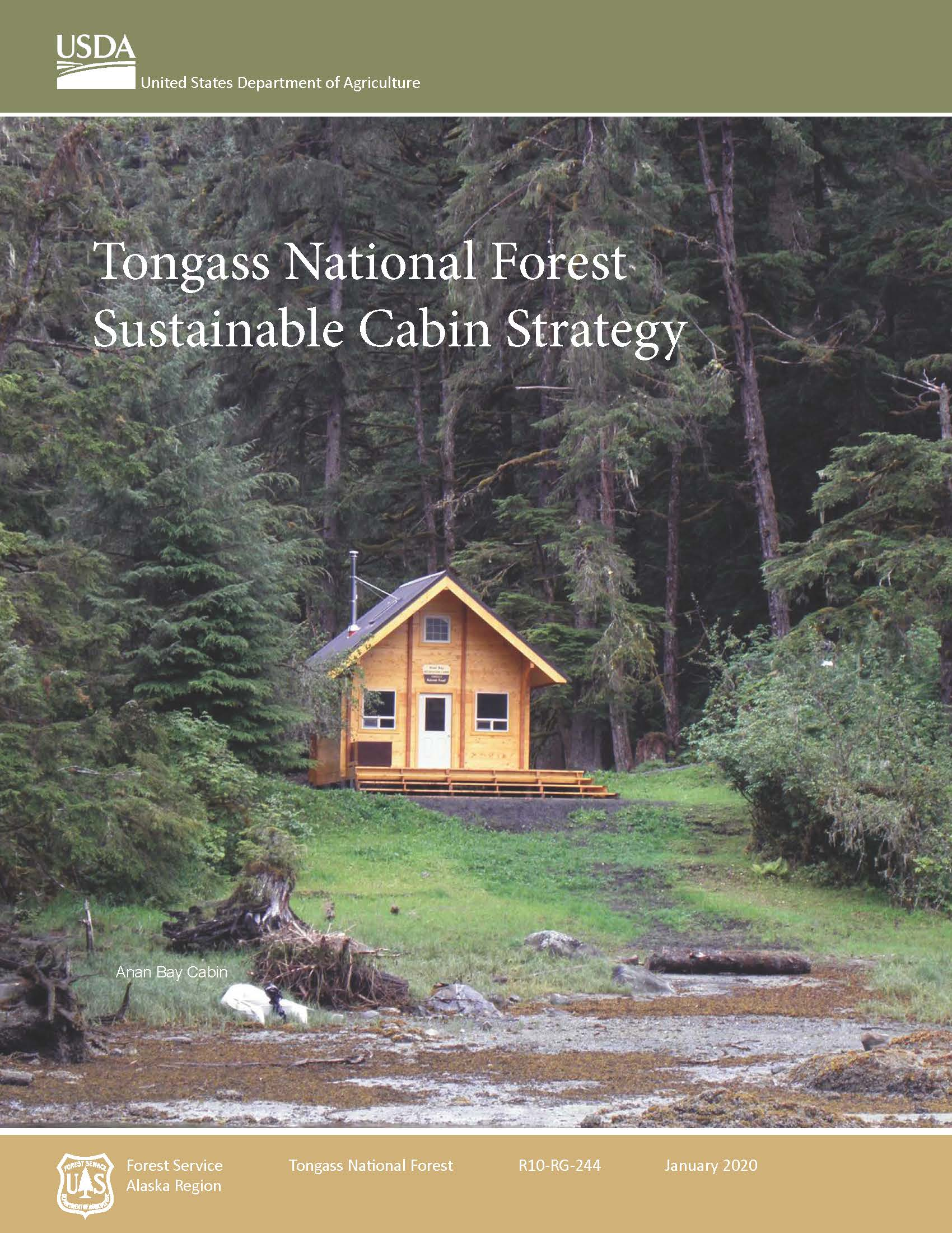 TNF Sustainable Cabin Strategy Jan 2020