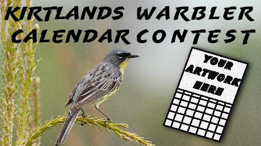 Kirtlands Warbler Calendar Contest