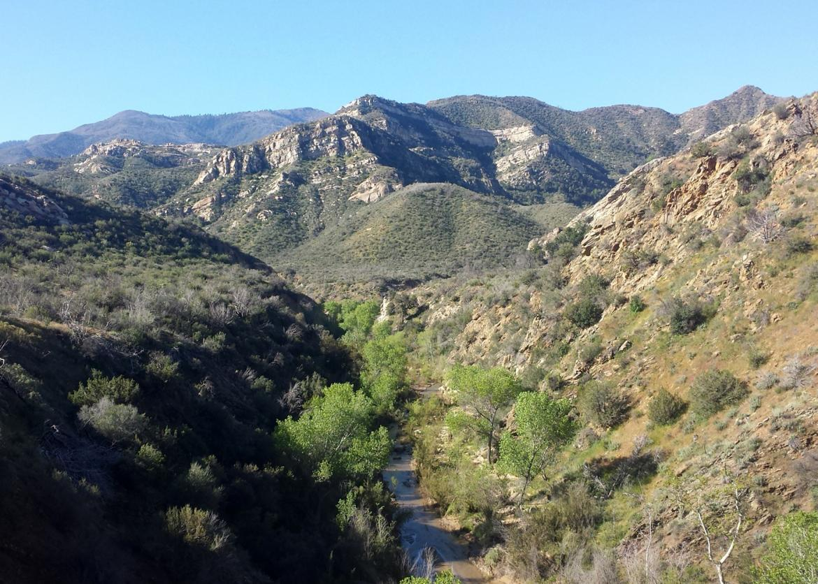 Sespe Wilderness Ojai Ranger District