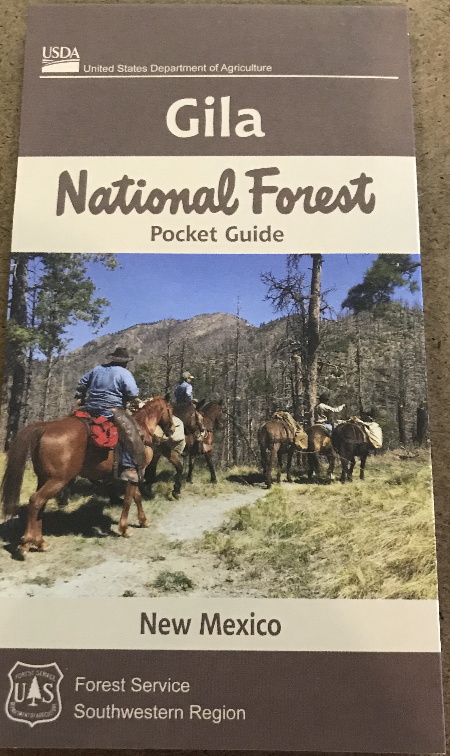 Gila National Forest Pocket Guide