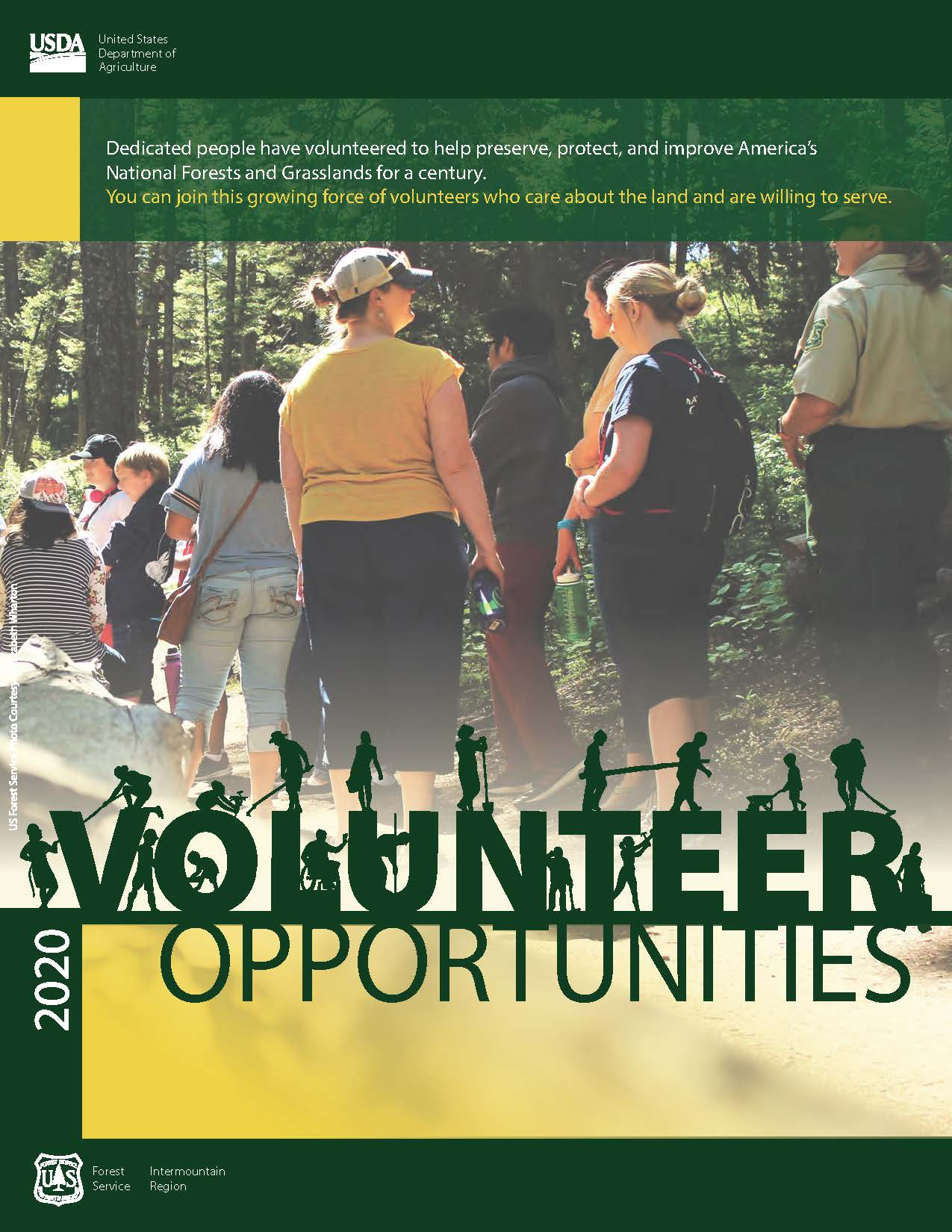 Photo of cover of 2020 Region 4 Volunteer Opportunities Directory