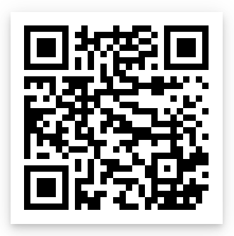 QR code for Avenza map of Central Back.
